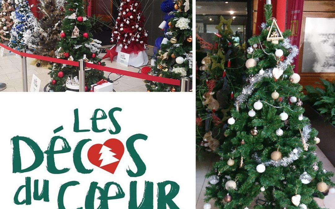 Le Crowne Plaza Lyon Cité Internationale participe à l'opération » Les Décos du Cœur «
