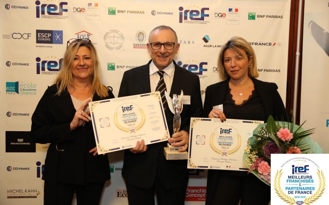 Meilleur Franchisé & Partenaire pour le Première Classe Genève-Aéroport-Prévessin au concours annuel de l'IREF!